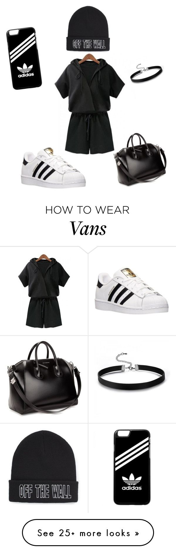 """Untitled #13"" by mm71028 on Polyvore featuring adidas, Givenchy and Vans"