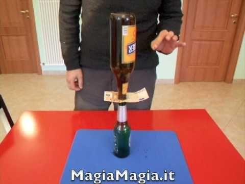 Bottiglia su bottiglia giochi da bar bet