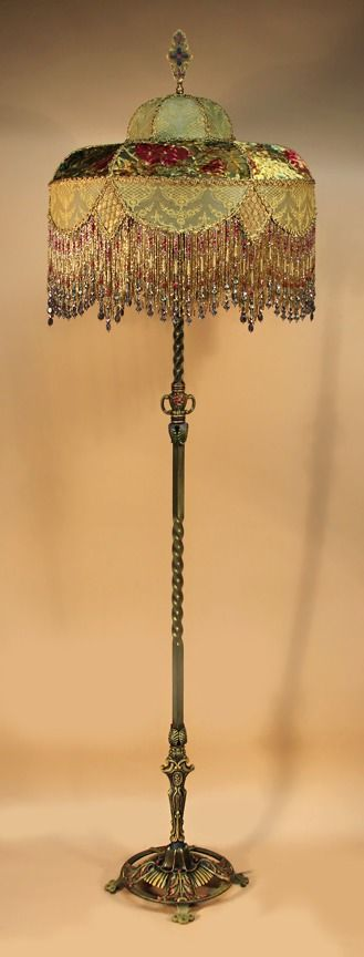 I want a houseful of victorian lamps...or at least this one