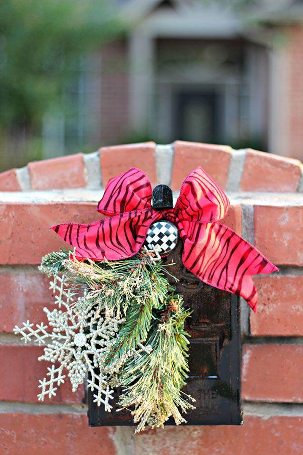 How to make christmas decoration for mailbox : Best ideas about christmas mailbox decorations on