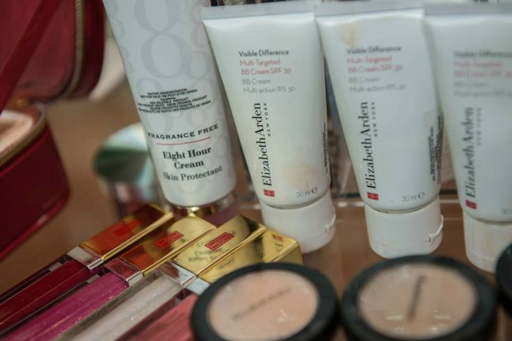 magnificent make-up touch ups by Elizabeth Arden!