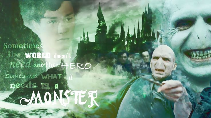 Voldemort, voldemort...   *Some kind of monster.
