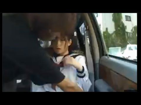 【車内撮影】はじめての‥女子高生。 知らない男に突然座席を押し倒されて思わず声を漏らしてしまう。