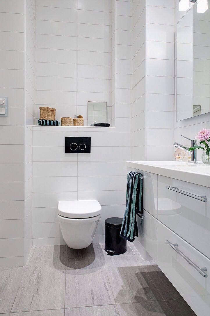 Washroom floor tiles