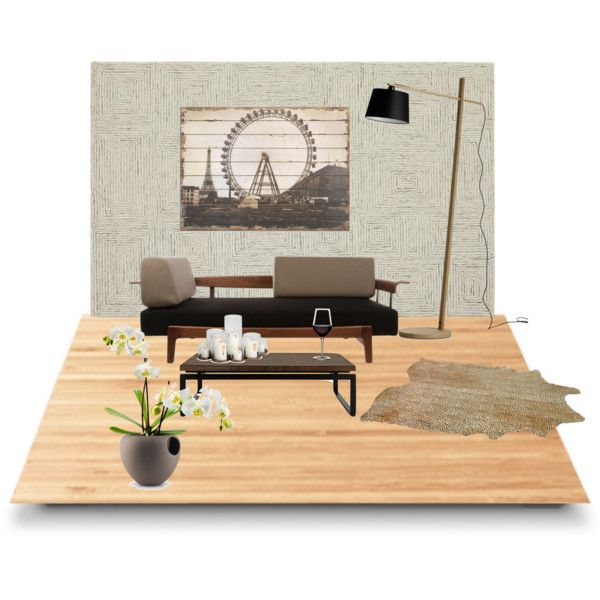minimalism! by georgiahondromara on Polyvore featuring polyvore interior interiors interior design home home decor interior decorating Crate and Barrel Suki Cheema