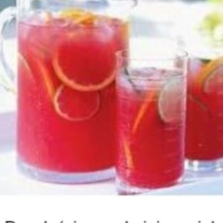 Princess Punch- 1 (46 oz.) can pineapple juice 1 (6 oz.) can frozen pink lemonade 2½ c. water 3 (28 oz.) bottles ginger ale 1 qt. strawberry ice cream
