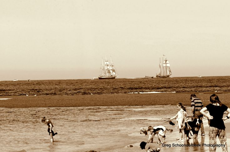 Back to early days with tallships