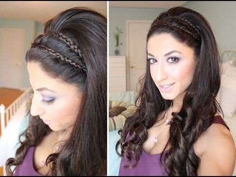 Hello my lovelies, here is a perfect hairstyle for the the upcoming springtime. I was so excited for all the sun and warmth that I wanted something very fitting for the weather, so a Greek Goddess Inspired hairstyle seemed just right! Enjoy! Ive used Luxy Clip-In Hair Extensions for added length and volume - ( http://www.luxyhair.com )   COMMEN...