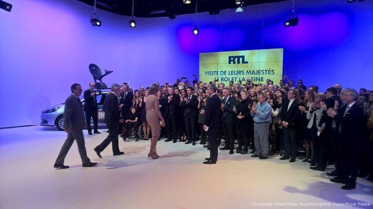 La Cour Royale Belge: Leur Majestes au Studio de RTL Belgique