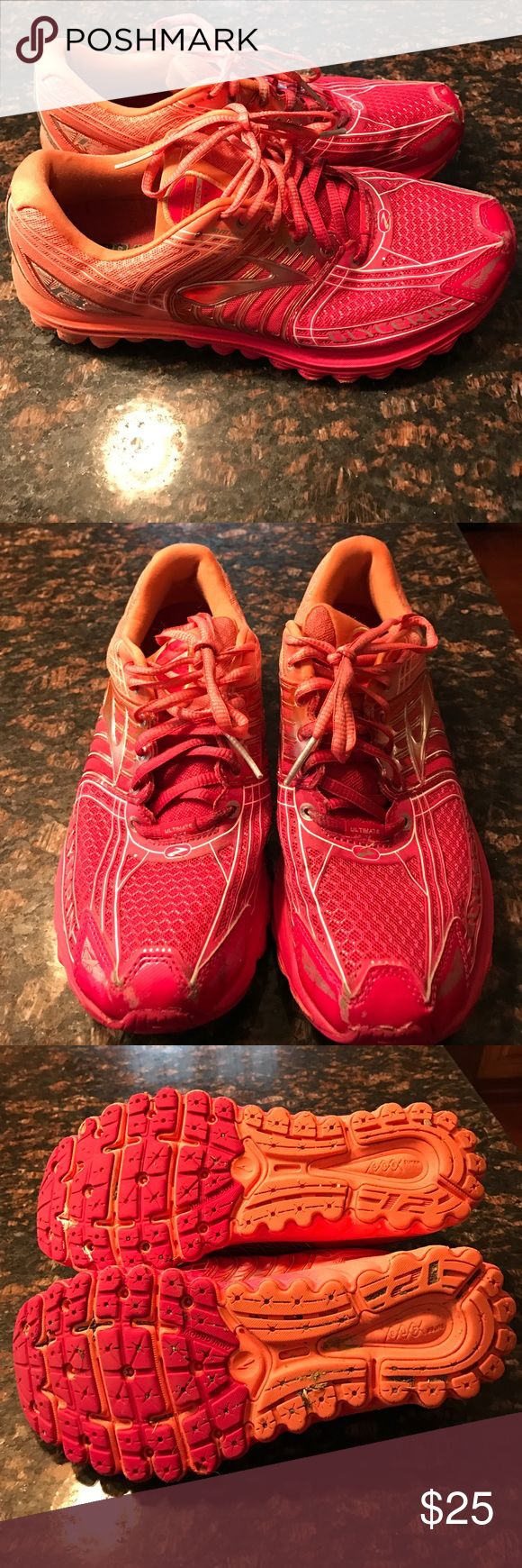 Brooks running sneakers lots of tread left Brooks running sneakers lots of life left Brooks Shoes Sneakers