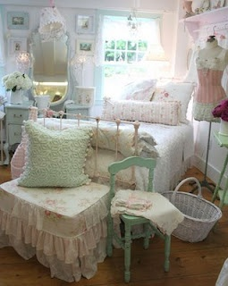 wonderful romantic shabby chic bedroom | 87 best images about ROMANTIC BedRooms on Pinterest ...