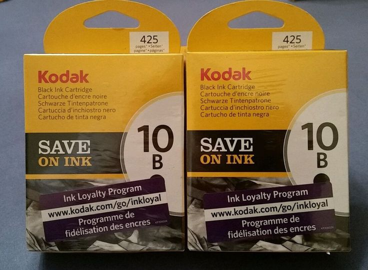 Kodak Genuine 10B Ink Cartridge - Black (425 Pages) 3949914  AC NEW job lot QYT2