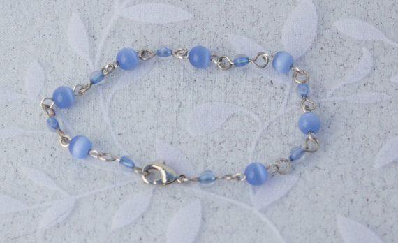 Light+Blue+Bead+Bracelet+by+KateMaderDecor+on+Etsy
