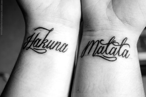 Love the font...maybe get this on one side of my ribs and Ohana on the other side. =)