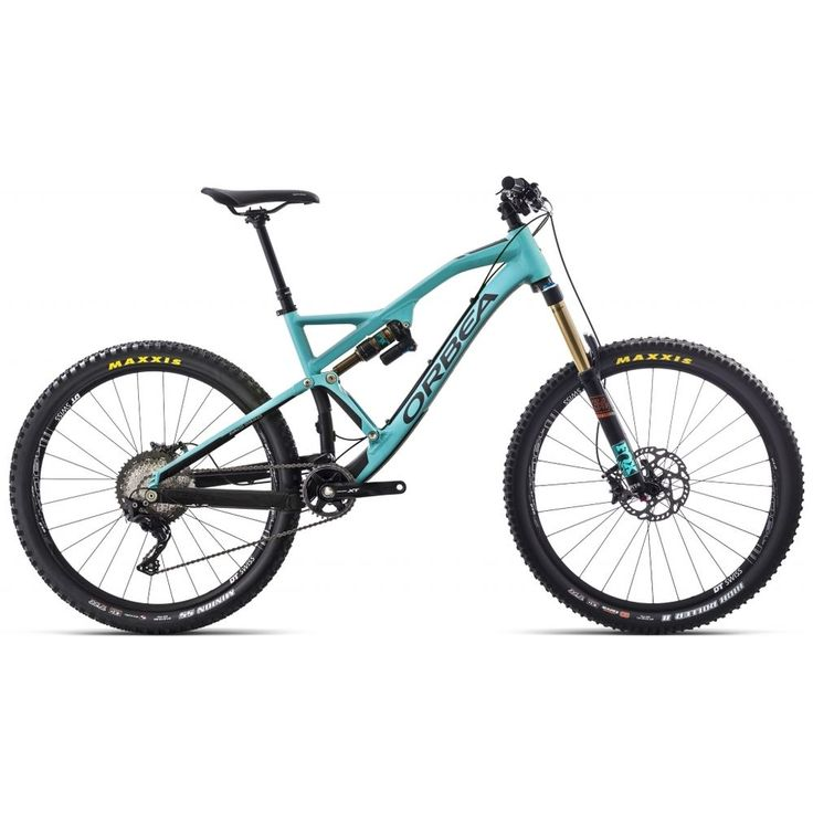 ORBEA Rallon X10 green-black 2017 MTB Fully türkis  | eBay