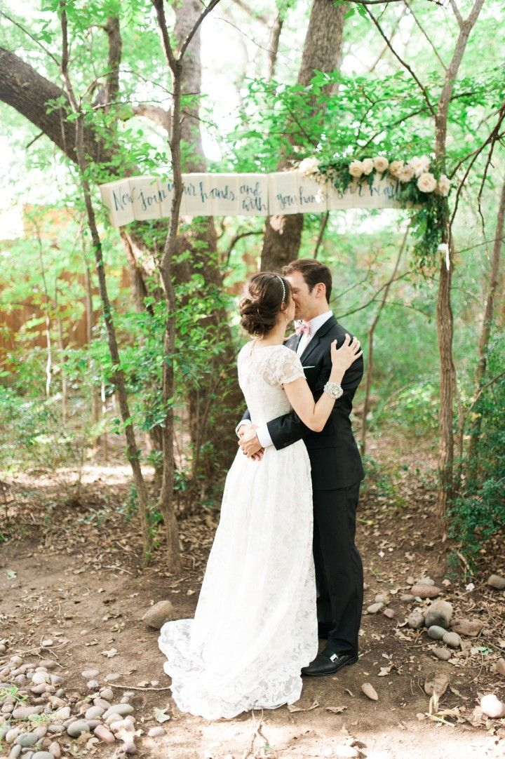 wedding ceremony idea; photo: Nicole Berrett Photography