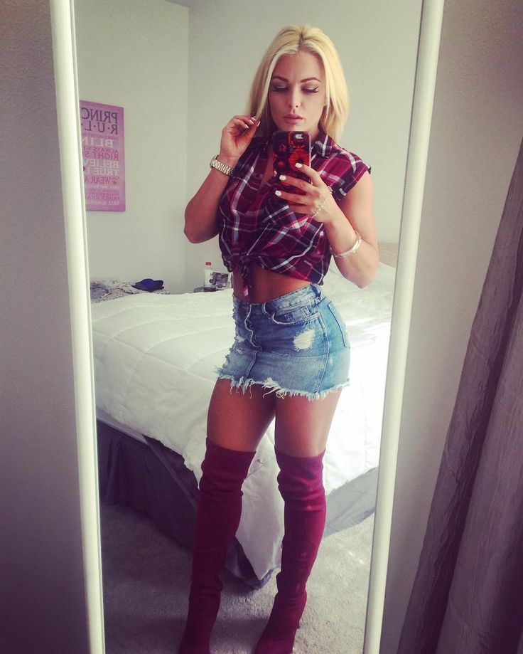 NXT star Mandy Rose makes a cute cowgirl  #MandyRose #NXT #WomenOfWrestling
