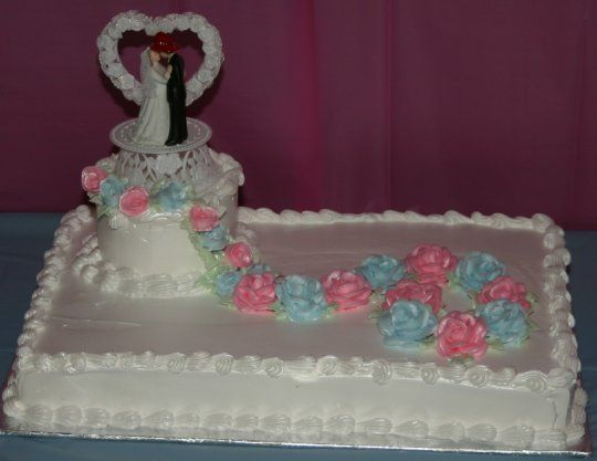 19 best wedding sheet cakes images on pinterest. Black Bedroom Furniture Sets. Home Design Ideas
