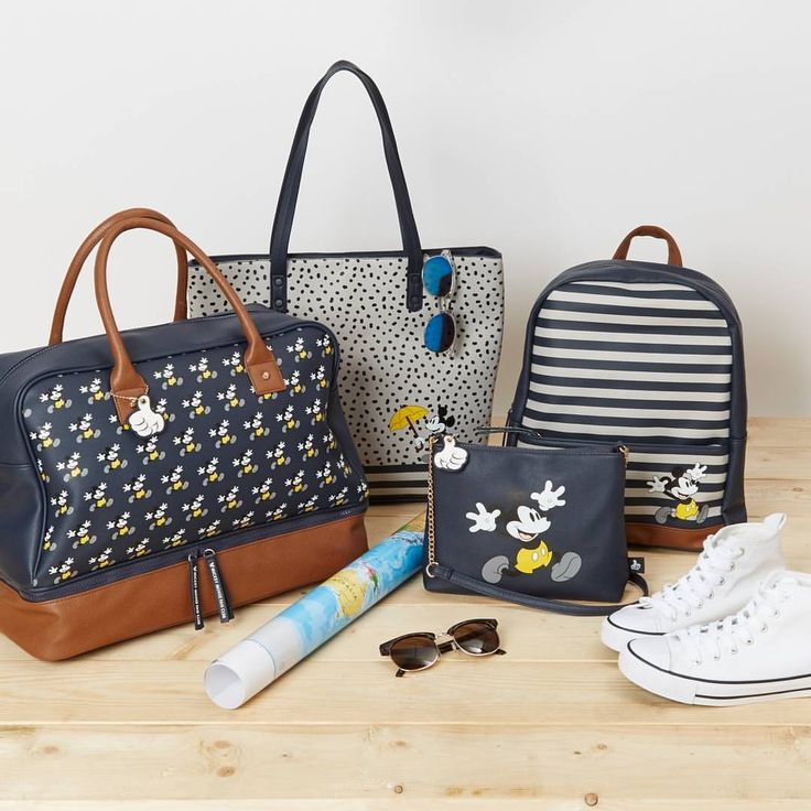 We LOVE these #Disney accessories! #MickeyMouse bags from only £9/€12  #Primark #handbags