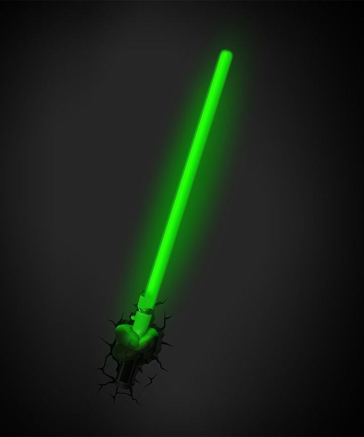 Yoda lightsaber 25 pinterest yoda lightsaber 3d deco wall light sale star wars in stock save 50 mozeypictures Images