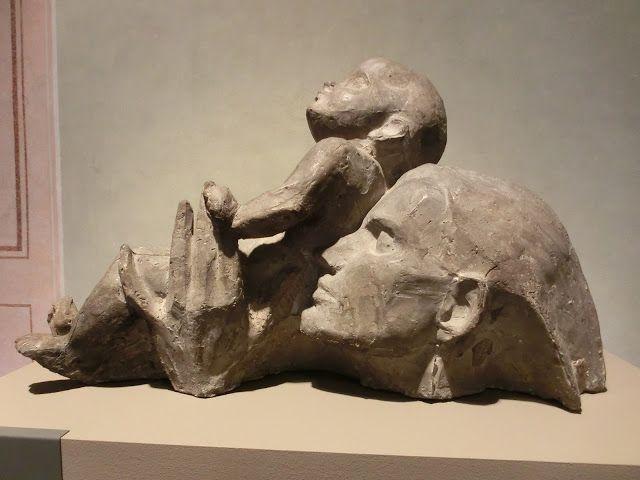 """WWW Wiersze Wycieczki Wspomnienia: Rodin/Dunikowski: """"Kobieta w polu widzenia"""", Kraków"""