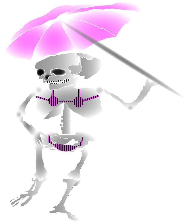 Summer skeleton