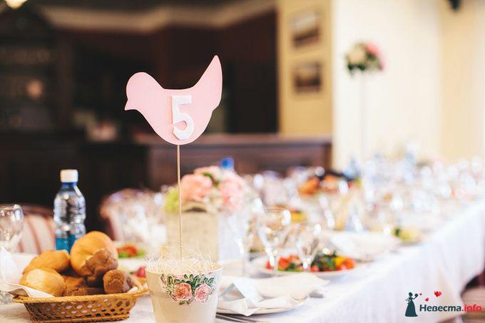 Идеи оформления для таблички с номером стола! | 2 сообщений | Блоги невест на Невеста.info