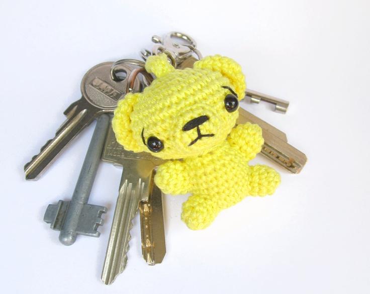 Amigurumi Monkey Keychain : 76 best crochet - amigurumi key chain images on Pinterest