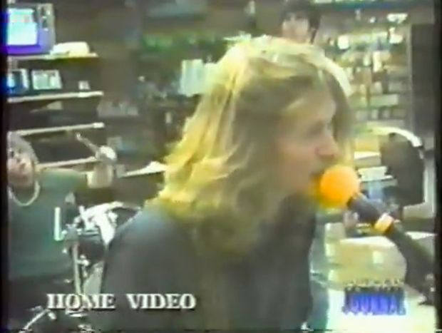 Rare Nirvana Video from 1988