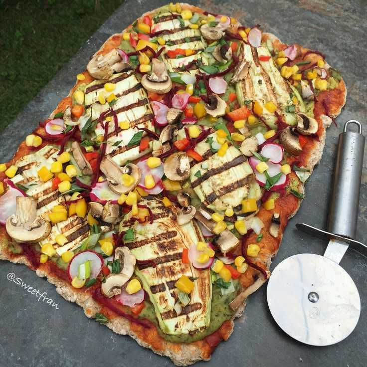 Vegan pizza, oil free, hight carb. Plant based. Instagram👉sweetfran