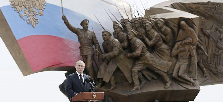~L�intervention militaire dans l�est de l�Ukraine n�est pour le pr�sident russe qu�un �l�ment dans un jeu plus vaste: en finir avec le syst�me de relations mis en place apr�s la fin de la Guerre froide. L�intervention militaire dans l�est de l�Ukraine...