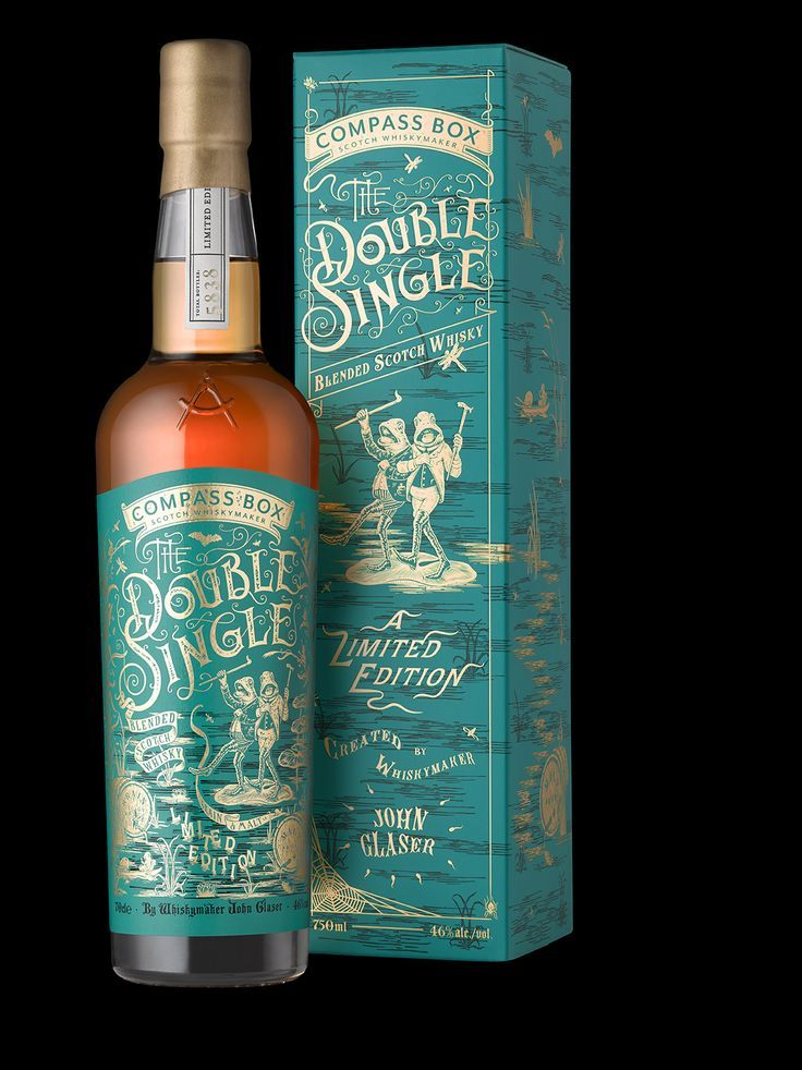 Compass Box Packaging Design - The Double Single