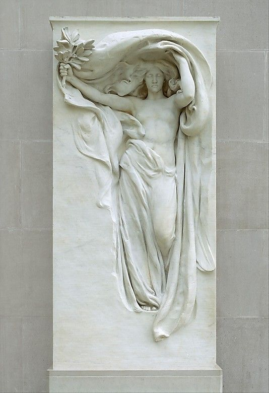 Mourning Victory from the Melvin Memorial (1906-08), Metropolitan Museum of Art, New York, NY