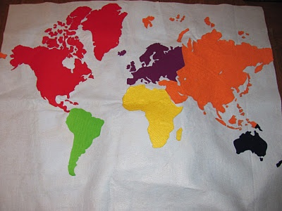 325 best social studies geography images on pinterest continents diy felt world map also links to other world continent box ideas gumiabroncs Image collections