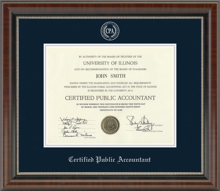 Wall Certificate To Frame Cpa Exam Review Another71 Com