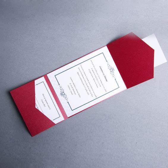 Super 118 best faire part mariage poche style images on Pinterest  PG65