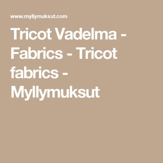 Tricot Vadelma - Fabrics - Tricot fabrics - Myllymuksut