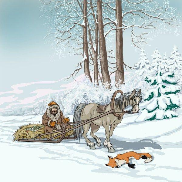 Иллюстрация к сказке — Работа №16 — Портфолио фрилансера Андрей Цепков (nord-west)