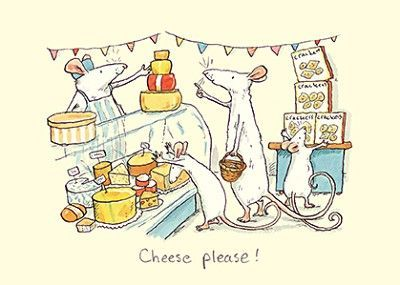 Anita Jeram: Mouse shopping - Cheese please!
