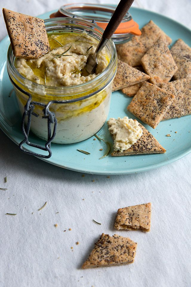 Great Northern Bean & Rosemary Dip | Gobo Root
