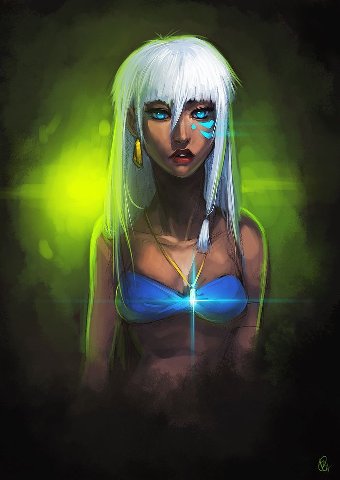 Kida by *pokefreak (this movie doesn't get nearly enough love)