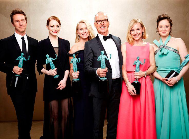 Revive los mejores momentos y conoce la lista completa de ganadores de los #SAGAwards: http://www.gq.com.mx/actualidad/cine-tv/articulos/premios-de-cine-screen-actors-guild-awards-sag-awards-2015/4476