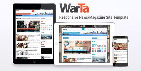 Warta - News/Magazine Site Template