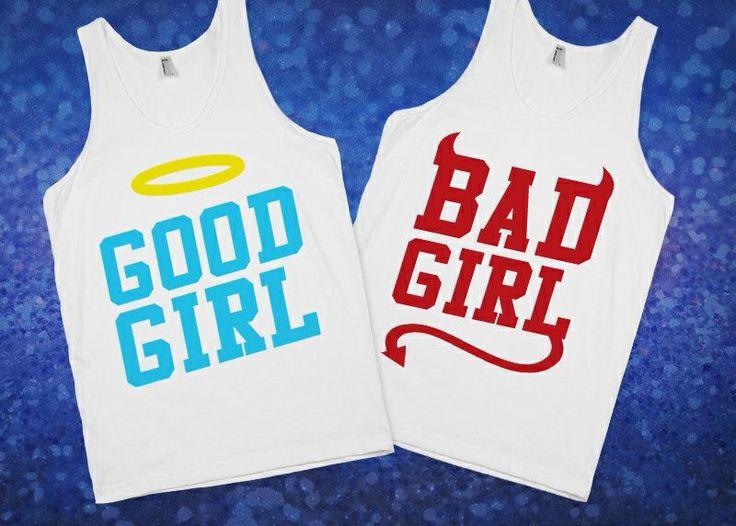 BFF shirts me bad girl Allison good girl