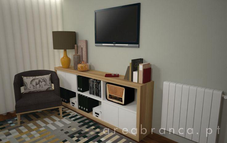 Escritório #Areabranca #DesignInteriores #InteriorDesign #HomeOffice #Decor #Wood