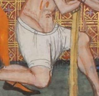 Vincent de Beauvais, Speculum historiale, traduction française par Jean de Vignay. Vol. I (Livres I-VII)  Date d'édition :  1370-1380  NAF 15939  Folio 76v