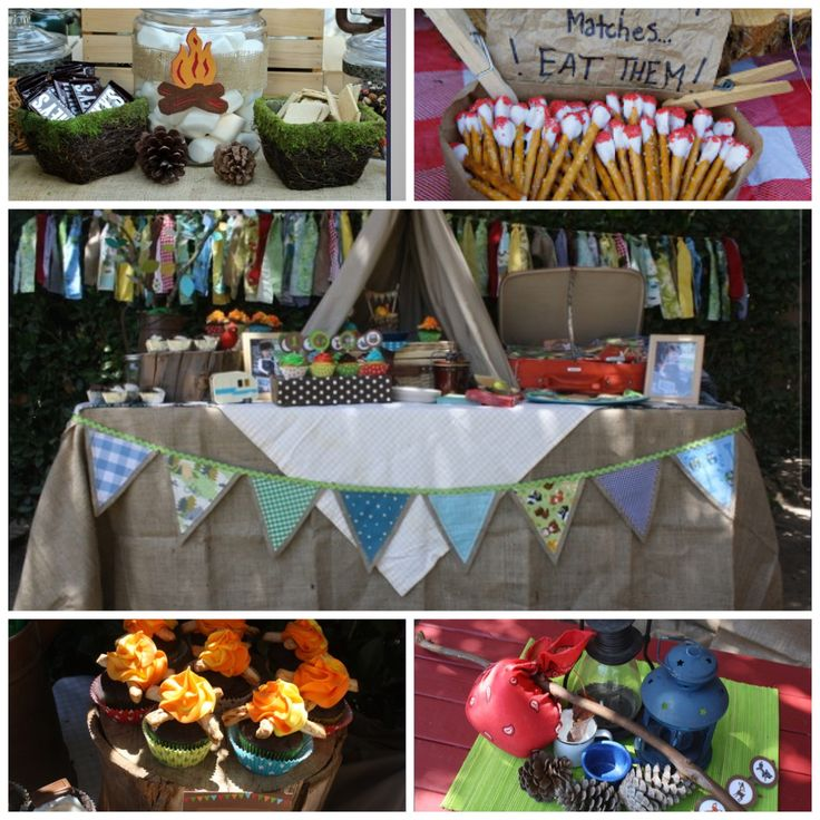 89 Best Camping Party Images On Pinterest