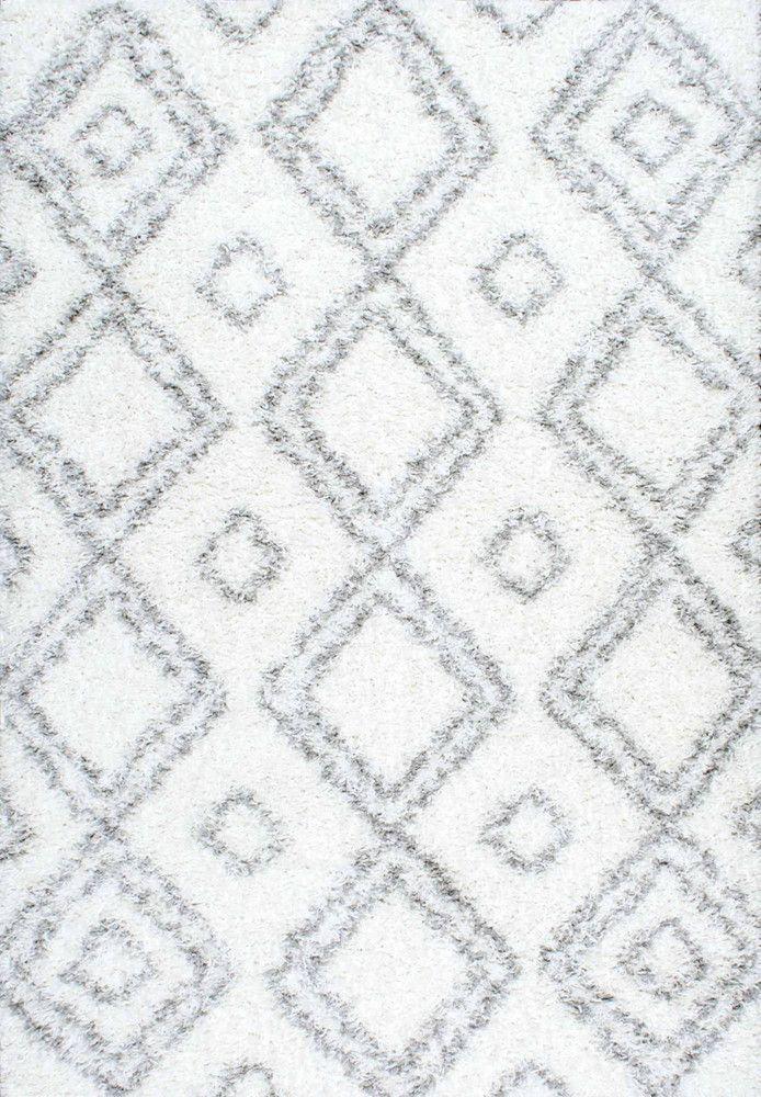 Lola Easy White Shag Area Rug - NuLOOM - $71.99 - domino.com