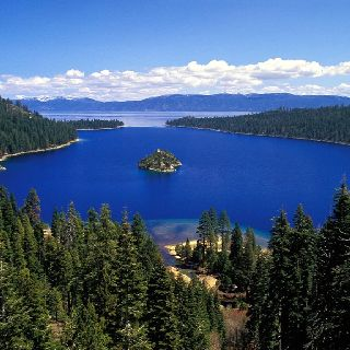 Emerald Bay, Lake Tahoe. Somewhere down there is a rock that I took a picture on when I was a toddler :)