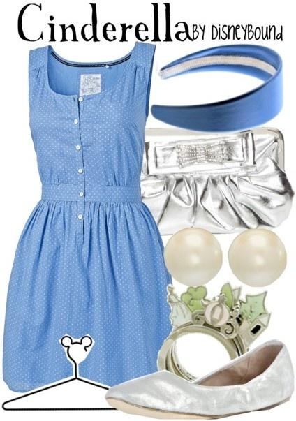 modern cinderella outfit